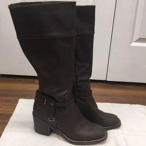 XOXO Boots Square Toe Size 7 1/2